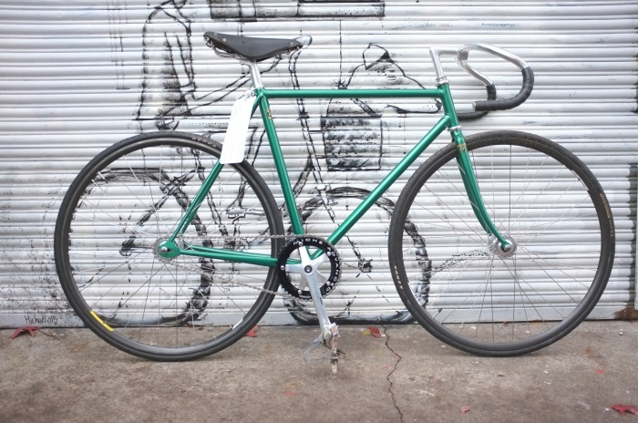 Gorgeous 70's track bicycle
