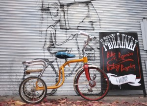 Groovy 60's kids tricycle restoration. We usually try to preserve the original paintwork.