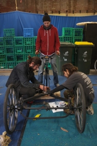 Working on the Trike