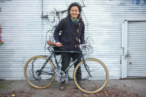 This delightful person had been searching for a while for a groovy little 24 inch road bike, we rebuilt it with her as she wanted to learn and be part of the process