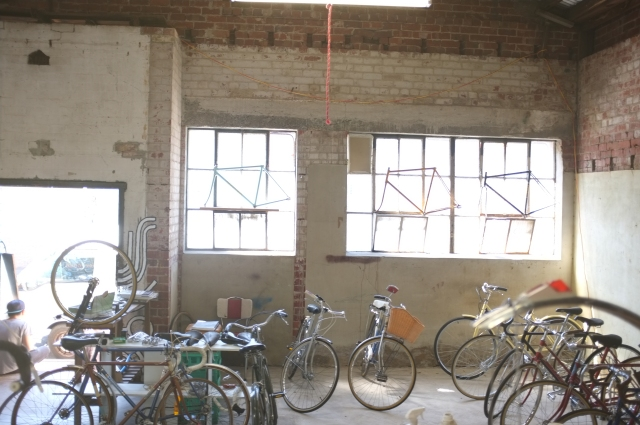 Another shot of the new digs, 50 Rose Street Fitzroy Mottainai Cycles