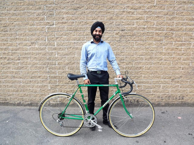 The green Apollo, blinged up to the nines. Steady commuter with panache.