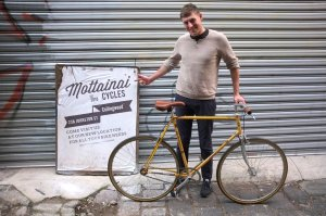 'Eurostralian' race bike the 'Europa' gets a new lease of life as a hip single-speed whip