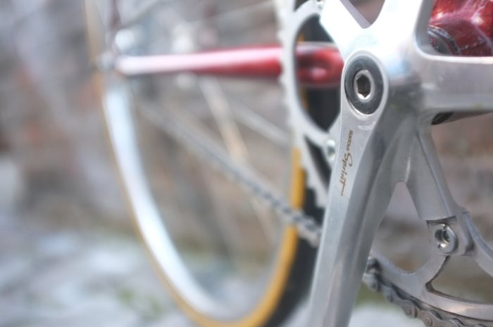 Check those lovely cranks