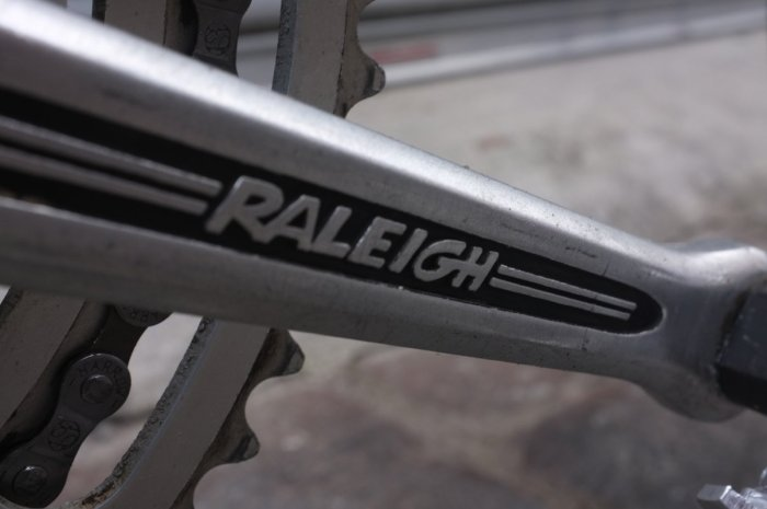 Original Raleigh cranks