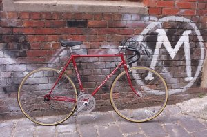 Early 1980s Peugeot restoration. New Paint job and decals.