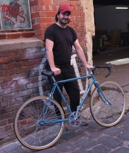 Beautiful Bates single-speed conversion. Definitely one to impress your mates with!