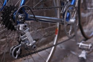 Detail of the new Colnago – Campagnolo Nuovo Record groupset