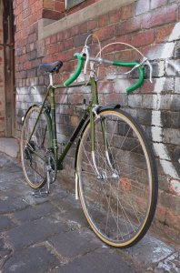 This minty fresh Raleigh Grand Prix is another new addition here at Mottainai Cycles