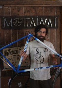 Another new arrival is this Moser frame and our new t-shirts!