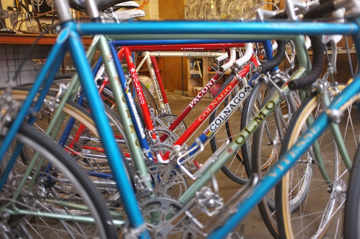 Vintage custom built bicycles and restorations Mottainai Cycles ...