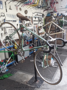 Mottainai service in progress..... lovely 70's Bianchi