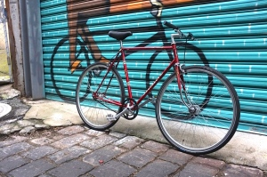 You guessed it, a Peugeot single speed conversion in accumulate condition